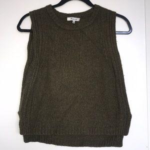Madewell sleeveless sweater top